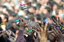 Ünlü spiker Mesir Festivali'nde Hafsa Sultan oldu