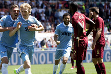 Roma derbisinde 4 gol 1 kırmızı kart