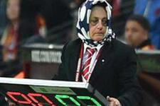 Herkes Galatasaray maçındaki bu kadını konuşuyor