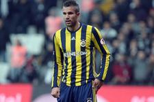 Van Persie: Galatasaray'a gol atınca...