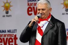 Binali Yıldırım İzmir'de müjdeyi verdi...