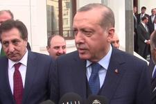 Erdoğan'dan kamuoyu araştırmaları sorusuna cevap