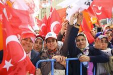 Gaziantep'te yoğun kalabalık Binali Yıldırım'ı böyle karşıladılar