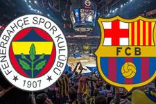 Fenerbahçe Barcelona maçı ne zaman saat kaçta hangi kanalda?