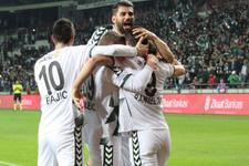 Atiker Konyaspor Sivasspor'u yendi yarı finale yükseldi