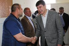 Başkan Türel, Manavgat'ta MHP, BBP ve AK Parti'yi ziyaret etti