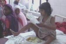 Maymunlarla yaşayan 8 yaşında kız çocuğu bulundu