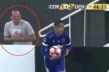 Çakal top toplayıcı Brezilya'da alay konusu oldu