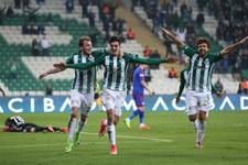 Bursaspor - Karabükspor maçı özeti