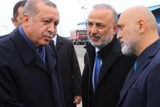 Cumhurbaşkanı Erdoğan Hikmet Karaman'la görüştü