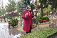 Meral Akşener'den Türkeş'in kabrine ziyaret
