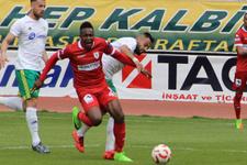 Samsunspor Şanlıurfaspor'a şans tanımadı