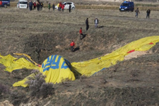 Yıldız oyuncu balon kazasında yaralandı