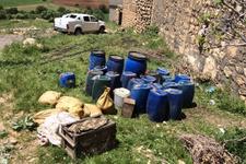 Mardin'de 500 kilogramlık patlayıcının infilak anı görüntülendi