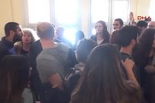 Edirne'de gergin duruşma
