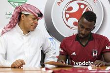 Beşiktaş formasıyla Suudi Arabistan takımına imza attı