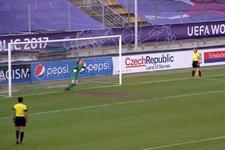 Yeni penaltı sistemi ilk kez uygulandı