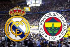 Fenerbahçe-Real Madrid maçı saat kaçta hangi kanalda?