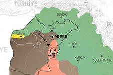 Musul'da son durum sadece 12 kilometrekare kaldı!
