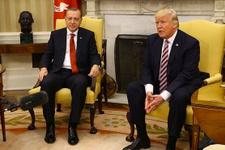 Tarihi görüşme sonrası Trump'tan Erdoğan tweeti
