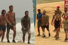 Survivor'da Türk ve Yunan takımları parkura böyle geldi!