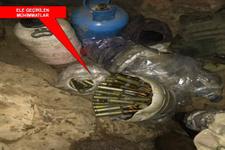 PKK'ya ait 53 sığınaktan çıkan silahlar şaşırttı