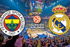 Fenerbahçe - Real Madrid / Euroleague maçı sonucu