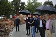 Başkan Türel 2 önemli projeyi inceledi