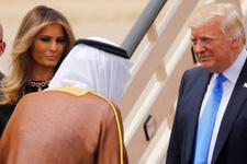 Melenia Trump'ın Suudi Arabistan'da giydiği kıyafet olay oldu