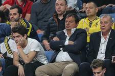 Ergin Atman Fenerbahçe'nin maçını izledi