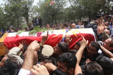 Goran Hareketi lideri Mustafa'nın cenaze töreni