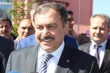 Bakan Eroğlu'nun çifte sevinci