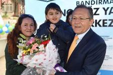 Bandırma engelsiz yaşam merkezi hizmete açıldı