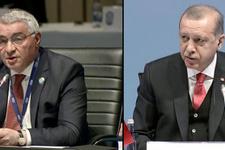 Erdoğan Ermeni temsilciye daha fazla dayanamadı