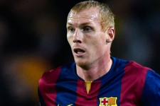 Galatasaray Barcelona'lı Mathieu'nun transferini bitiriyor