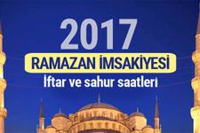 2017 İmsakiyesi - 22 saat oruç tutacaklar en erken iftar...