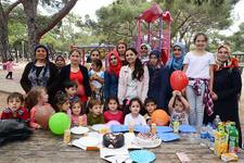 Büyükşehir Aile Eğitim Merkezleri piknikte buluştu