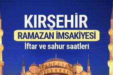 Kırşehir Ramazan imsakiyesi 2017