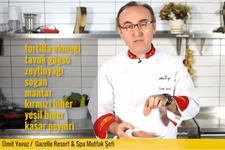 Tavuklu Mantarlı Quesadilla (Kesadiyya) nasıl yapılır?
