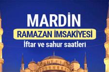 Mardin Ramazan imsakiyesi 2017