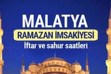 Malatya Ramazan imsakiyesi 2017