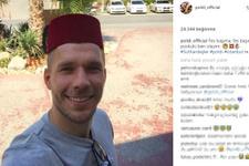 Lukas Podolski'den güldüren paylaşım