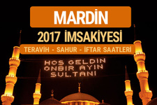 Mardin sahur imsak vakti teravih saatleri- İmsakiye 2017