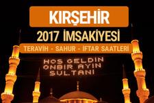 Kırşehir sahur imsak vakti teravih saatleri- İmsakiye 2017