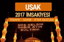 Uşak sahur imsak vakti teravih saatleri   İmsakiye 2017