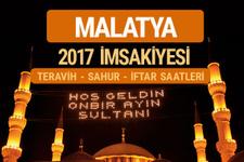 Malatya sahur imsak vakti teravih saatleri- İmsakiye 2017