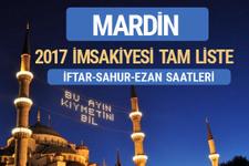 2017 İmsakiye Mardin iftar saatleri sahur ezan vakti