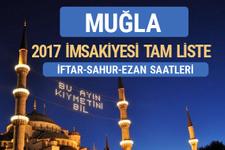 2017 İmsakiye Muğla iftar saatleri sahur ezan vakti