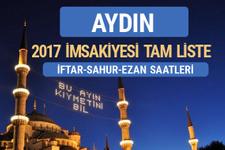 2017 İmsakiye Aydın iftar saatleri sahur ezan vakti
