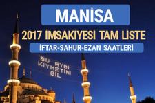 2017 İmsakiye Manisa iftar saatleri sahur ezan vakti